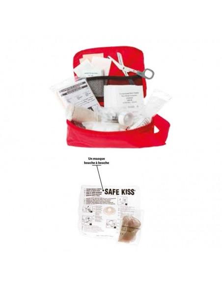 Kit de premiers soins SST sauveteur secouriste du travail - économique