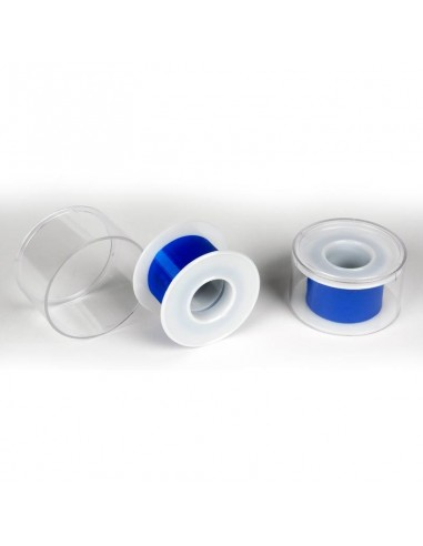 Sparadrap tissu bleu spécial alimentaire