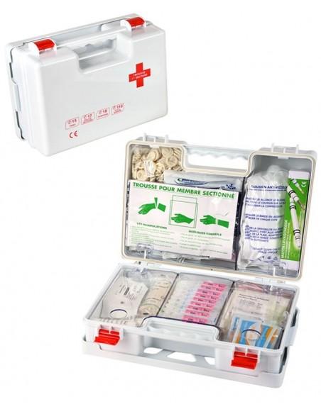 Trousse de secours Médecine du travail - Grande équipe