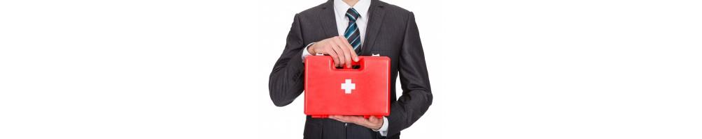 Trousse de secours pour professionnels